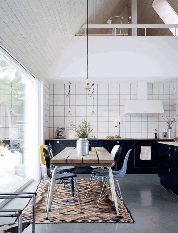 A newly build home that dreams are made of. Photo: Patric Johansson. Stylist Myrika Bergqvist. Birkaboo.