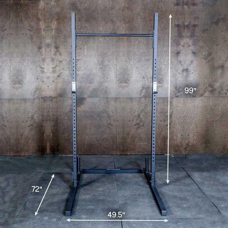 Squat Rack with Pullup Bar Pull up bar, At home gym