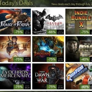 Joystiq Deals Serious Sam Gamer Bundle Steam Summer Sale Day 2 -  We've got a seriously huge dose of action coming your way from Joystiq Deals this week. Today we're spotlighting Croteam's Serious Sam series in the Serious Sam Gamer Bundle,