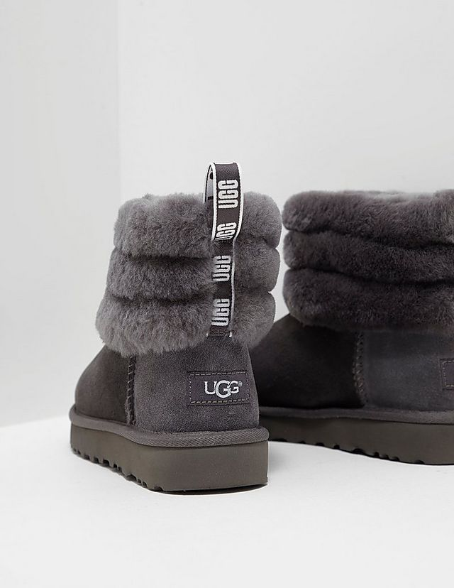 c4d81c6f5408 UGG Fluff Mini Quilted Logo Boots Women s