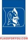"""Duke Blue Devils Garden Window Flag 15"""" x 10.5"""""""