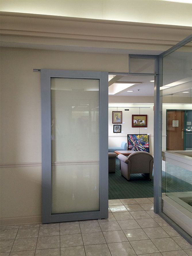 The flex series glass wall panels offer flexibility and Office partition walls with doors