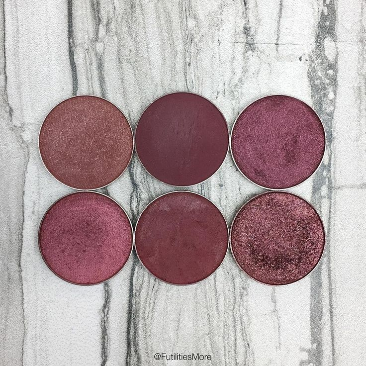 Burgundy Makeup Geek Eyeshadows | Futilities and More