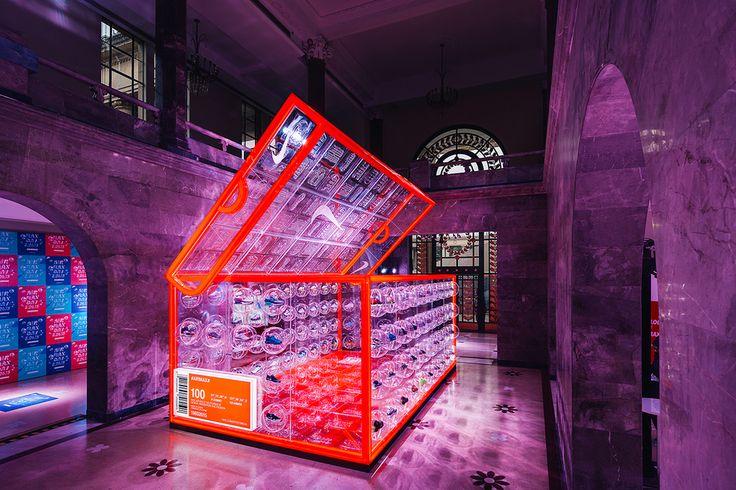 Nike's Shoe Box Pop Up Hits Shangahi