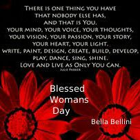 To all #Phenomenal_Bella's not only in #South_Africa but also in all #Corners, #Crooks and #Crannies of the #Earth. You are #Beautiful!!! You are #Uniquely #You!!! You are #Love and #Light!!! You are #Woman!!! Allow your Loving #Soul to #Shine forth. Here's wishing all you #Special_Ladies a #Blessed and #Peaceful Woman's Day #Today and #EveryDay.  ♥ Bella ♥