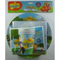 Party Pack New Wiggles Group 40pc $24.95 A010591