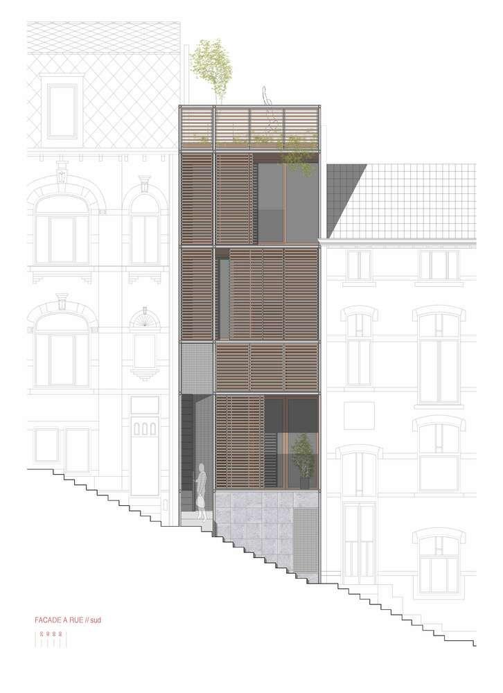 Gallery of Jonquilles House / Michel Prégardien Architecture – 25