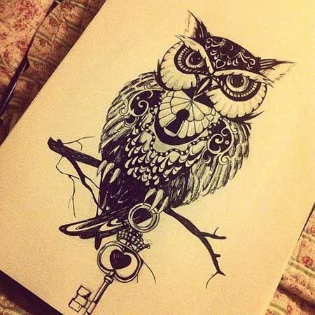 Coruja / Owl Tattoo