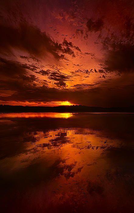 sunset - orange, yellow