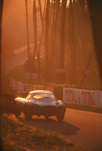 Looks like Peter Lindner's Jaguar E Type Low Drag at le Mans 1964