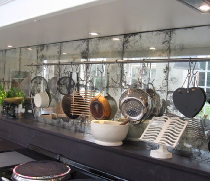 Best Mirrors Verre Eglomise Images On Pinterest Antiqued - Ceiling mirrors trend that becomes actual again