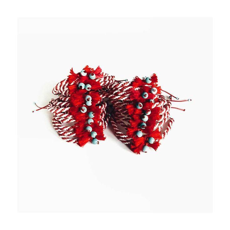 """""""Μάρτης #marchbracelet #ohsocutethings #handmade #jewelry #greekdesigners #greekdesigner #fashionjewelry #fashionista #instapic #instajewels #instafashion…"""""""