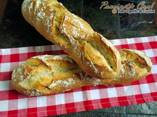 Les baguettes maison sont très simple à réaliser et avec une machine à pain c'est encore plus facile ! Lancez vous !