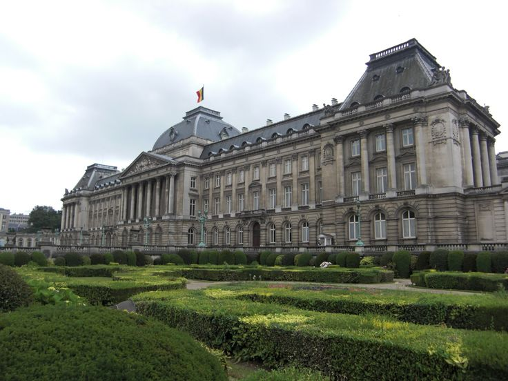 The Palace of Brussels, Belgium ~ The Royal Palace is the home of the Belgian Monarchy. It is used for official and State functions, however it is not currently in use as a royal residence