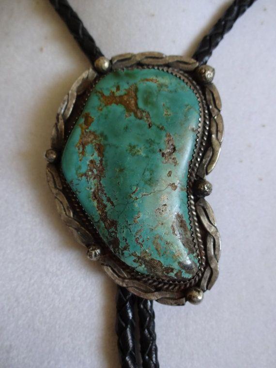Signed Wayne Etsitty Vintage Navajo Sterling Silver