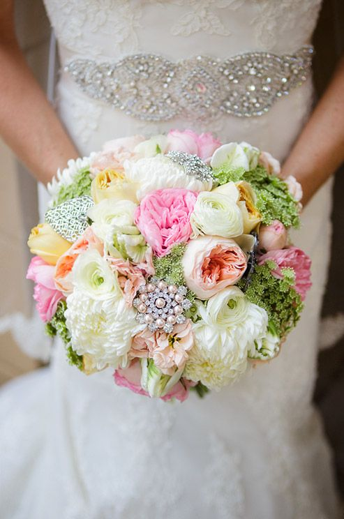 Bridal bouquet By Ruby Reds Floral & Garden | Photo: Erin Nicole