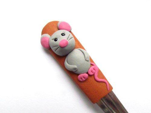 Lžička s myškou