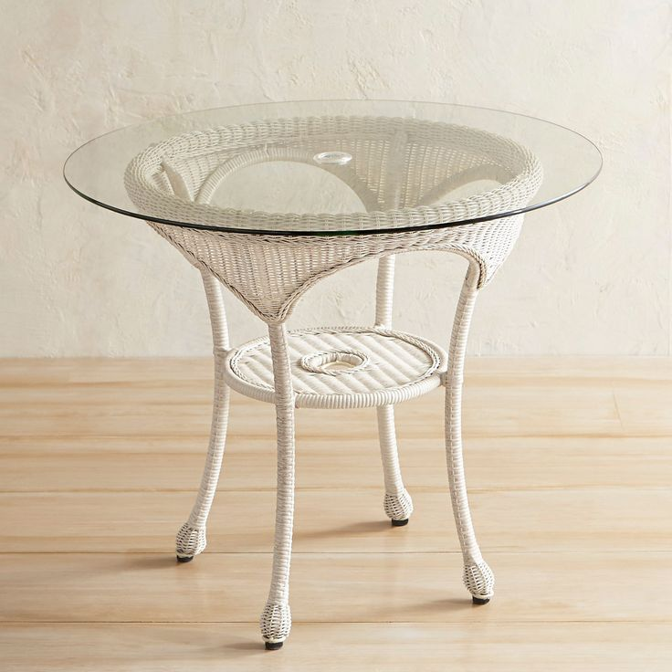 """Coco Cove Parchment 36"""" Round Dining Table"""