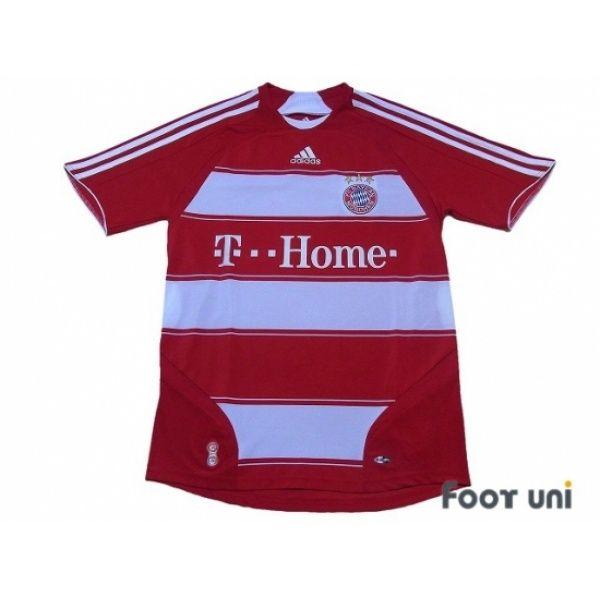 Photo1: Bayern Munich 2007-2009 Home Shirt adidas - Football Shirts,Soccer Jerseys,Vintage Classic Retro - Online Store From Footuni Japan