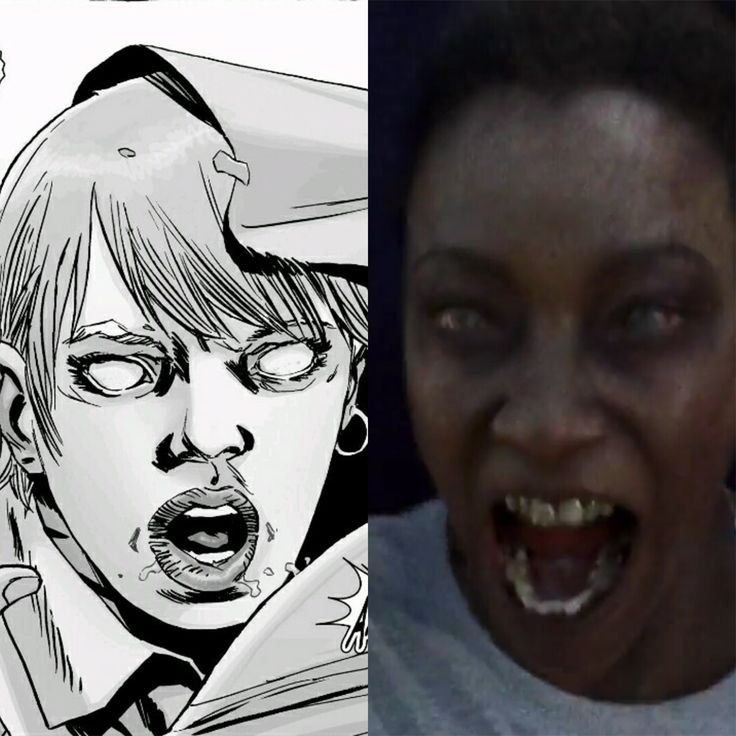 """Comparação SÉRIE vs HQ: The Walking Dead S07E16 - """"The First Day of the Rest of Your Life"""" - The Walking Dead Brasil"""