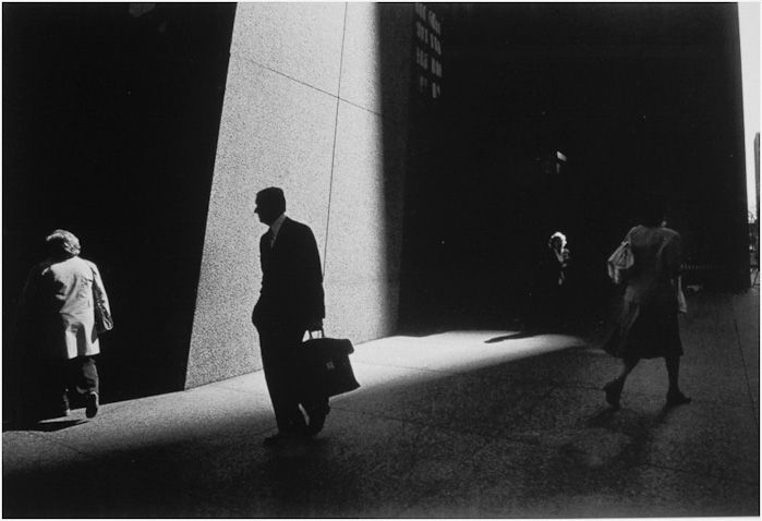 Ray Metzker's use of sunlight and shadow was masterful. Image © Ray Metzker