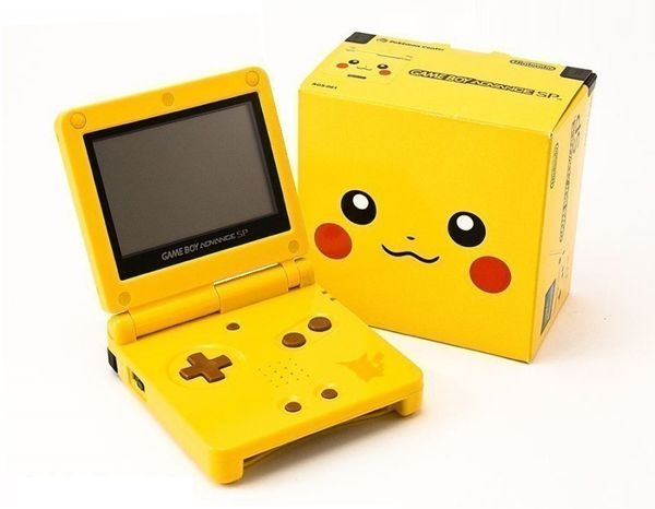 A Gameboy Advance SP.  It can be used, without box, with charger, and no scratches, both on the screen or outer surfaces.  I'm looking for either the Pikachu, Retro, Kindgom Hearts, Zelda, or regular Blue (not sky blue) or black versions.