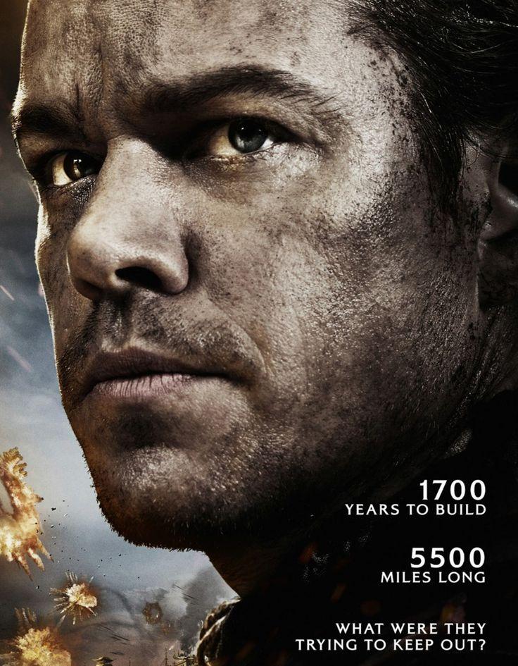 CineNews: Matt Damon escala a muralha da China no filme de Yimou Zhang