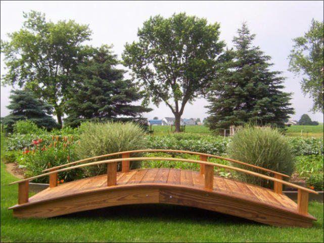 Spectacular Wood u Vinyl Garden Bridges Amish Crafted Structures Penn Dutch