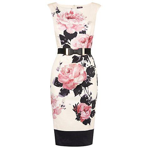 Buy Phase Eight Carrera Rose Dress, Multi Online at johnlewis.com