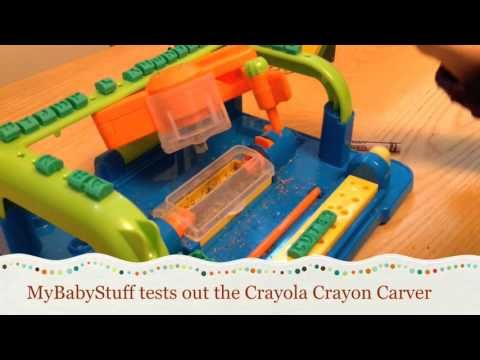 Personalize your Crayons with the Crayola Crayon Carver #Giveaway - MyBabyStuff Blog - Product Reviews - Family Travel - Giveaways -