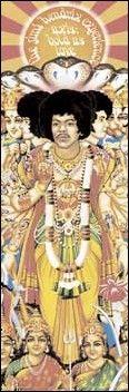 Jimi Hendrix - Axis Bold As Love - Door Poster