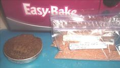 How to make cake mixes for Easy Bake Oven. includes recipe using regular cake mix: 3T cake mix, any flavor and 1T milk  grease and flour pan preheat oven and bake for about 15min! also other easy bake oven recipes to make without using a mix:)