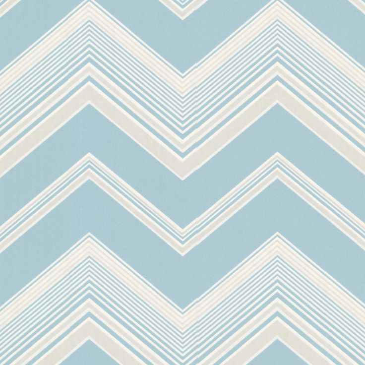 Brewster Wallcovering Light Blue Paper Geometric Wallpaper