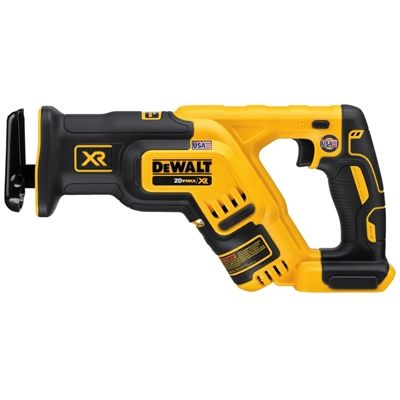 DEWALT 20-Volt Max-Volt Variable Speed Cordless Reciprocating Saw (Bare Tool)