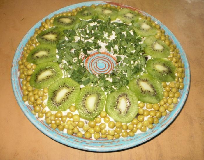 """Салат """"Нефритовое кольцо"""", делала - вкусно"""