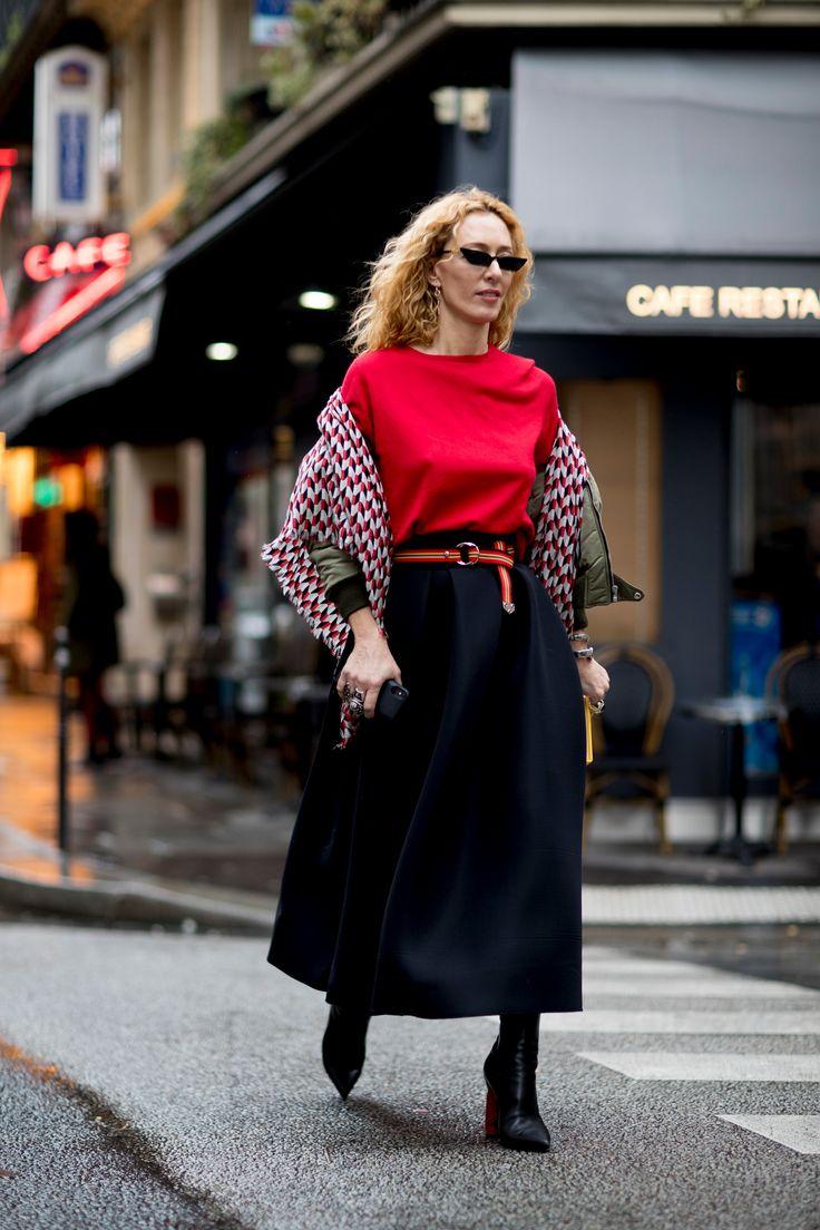 Paris Couture Fashion Week Street Style Spring 2018 Day 4