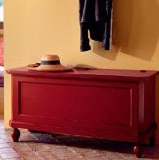 Cassapanca in legno – Tonin Casa