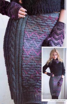 Schémata pletené sukně, šortky, kalhoty háček a paprsky »Strana 2