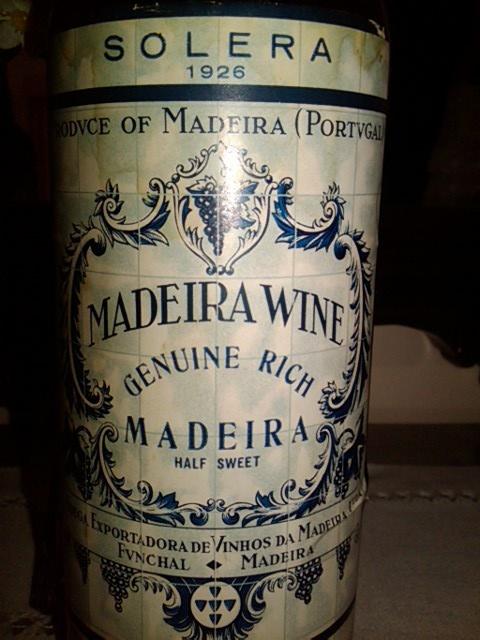 Vinho da Madeira