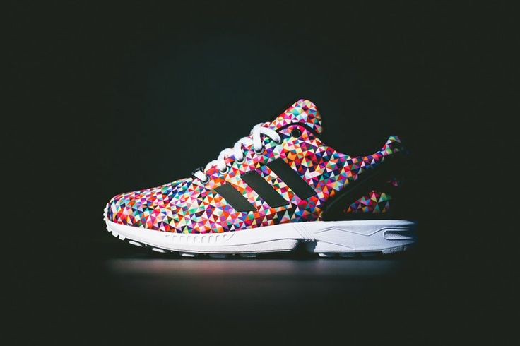 "Haven't picked up something from Adidas in a while.. This may very well me it. Adidas Originals ZX FLUX ""Multi"""