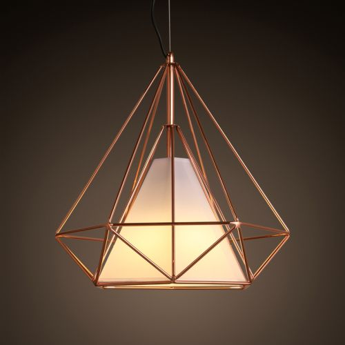 Aliexpress.com : Buy Nordic IKEA American Iron Birdcage Diamond Antique Retro Industrial DIY Metal Cage Ceiling Lamp Light Pendant Home Cafe Bar from Reliable pendant light ball suppliers on Smart Tribe  | Alibaba Group