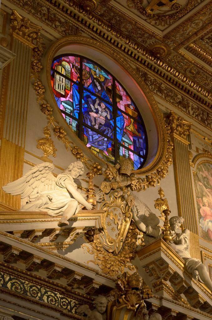 Interno Basilica di Santa Maria Maggiore, Roma