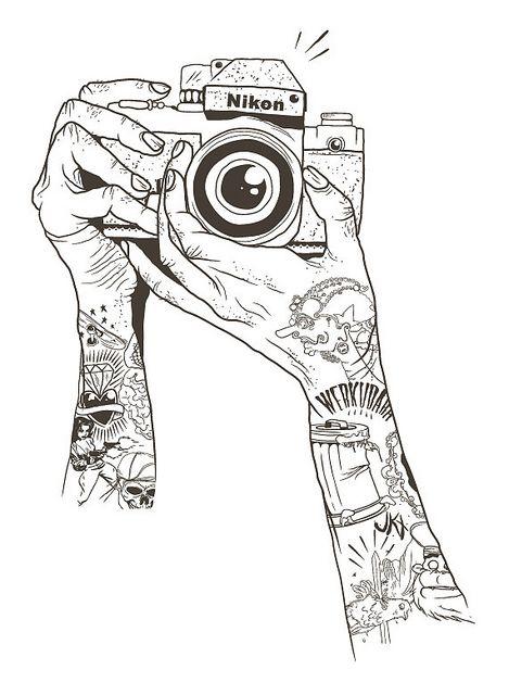 Así se agarra una cámara. FYI