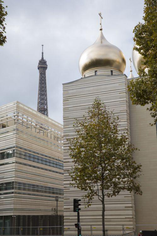 Cathédrale de la Sainte-Trinité de Paris (orthodoxe russe). Paris 7e
