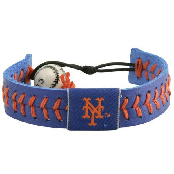 New York Mets Baseball Bracelet - Royal - $9.99