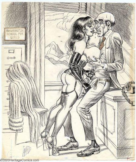 Have bill ward spanking women art any case