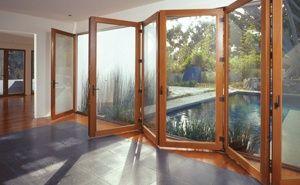 Bi-fold doors at great room.