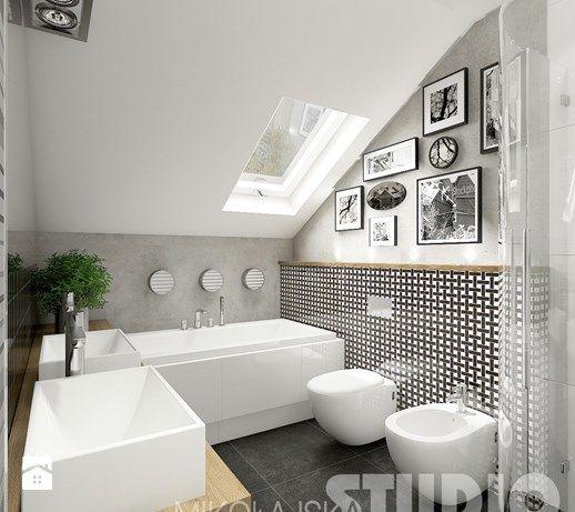 Łazienka w stylu eklektycznym - zdjęcie od MIKOŁAJSKAstudio