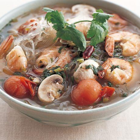 トムヤム麺 | 外処佳絵さんの料理レシピ | プロの簡単料理レシピはレタスクラブニュース
