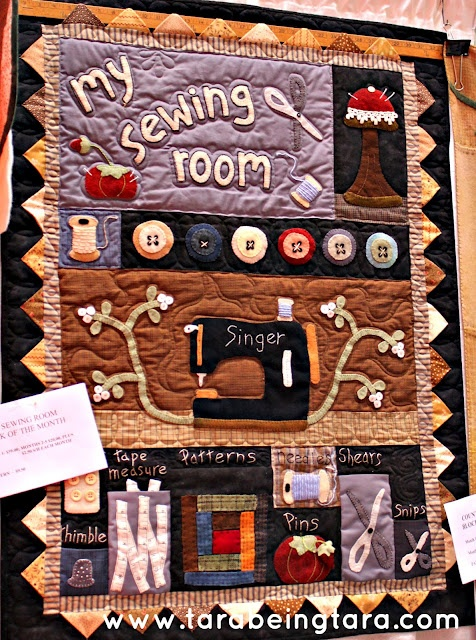 sewing room quilt